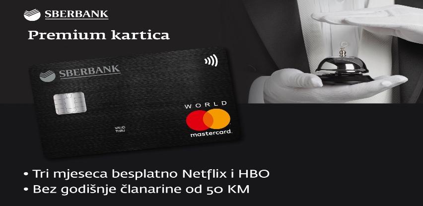 Premium kartica Sberbank BH, najprestižnija platna kartica u BiH