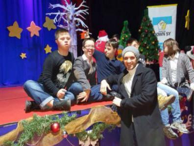 Lutrija BiH priredila novogodišnju zabavu za djecu s Down sindromom