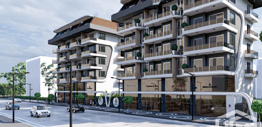 Alanya-Mahmutlar-Novi projekat-1+1 i 2+1 apartmani od 49.000 Eura