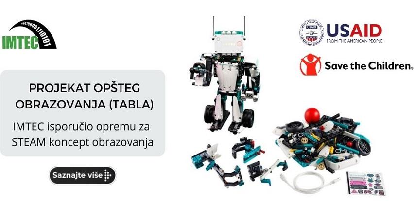 Projekat tabla: Imtec isporučio opremu za steam koncept obrazovanja