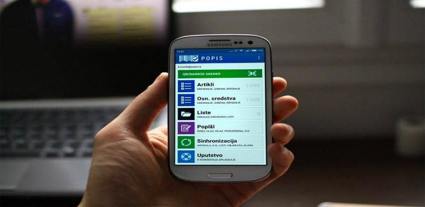 Popišite vaša osnovna sredstva i robu koristeći ItappSoft-ovu aplikaciju Popis