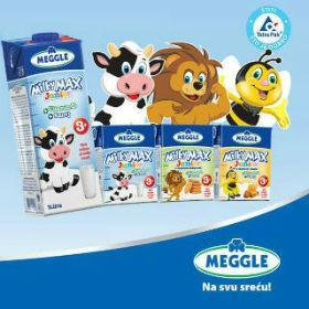 Novo MEGGLE mlijeko za djecu s dodatkom vitamina D i kalcija