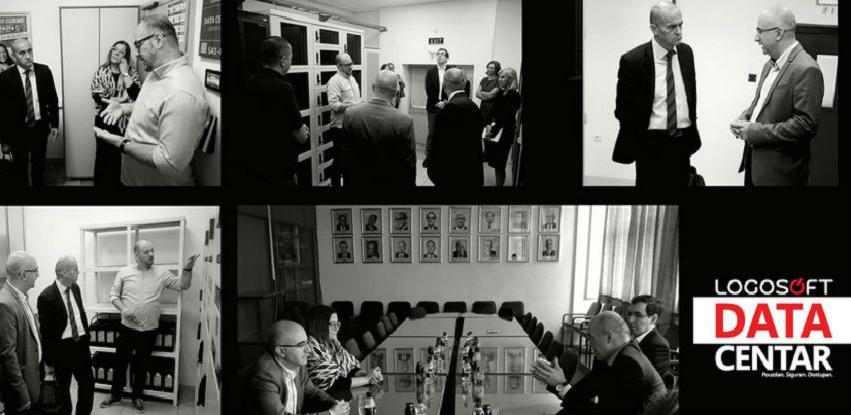 Rektor Univerziteta u Sarajevu u posjeti Logosoftu