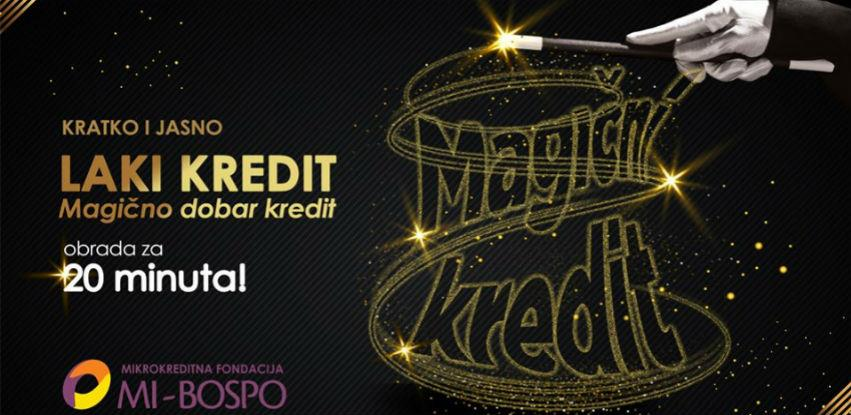 Akcija u martu! MKF MI-Bospo - Laki kredit!