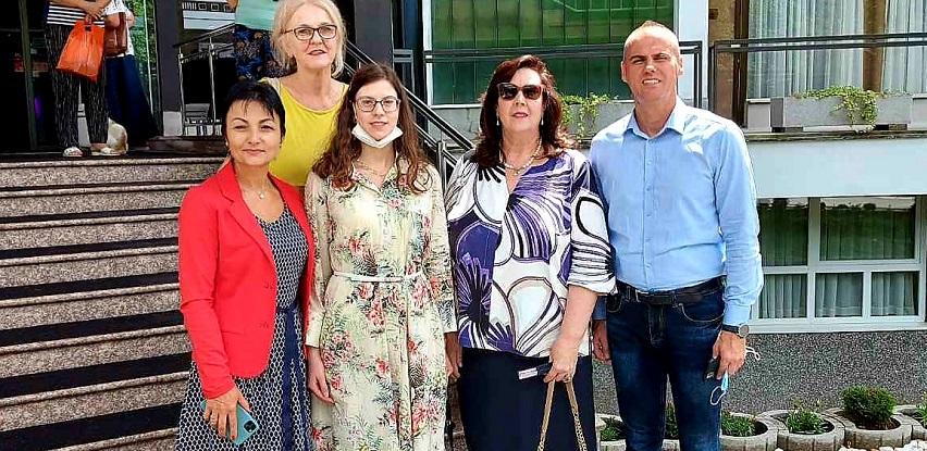 Posjeta ambasadorice Aide Smajić Lječilištu Reumal Fojnica