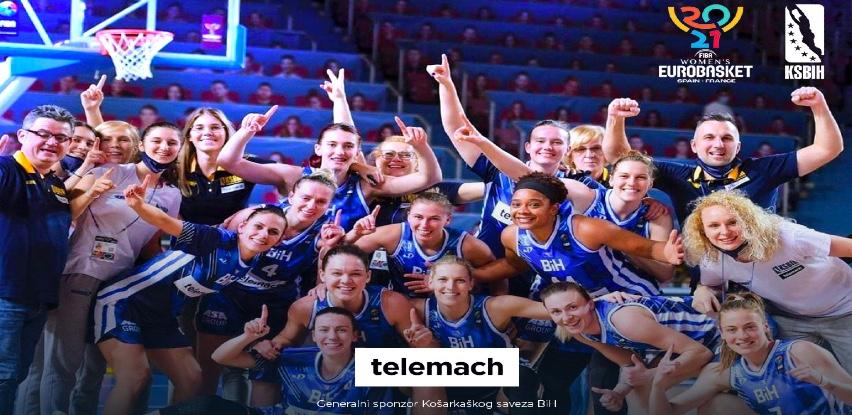Telemach BH: Ponosni zbog plasmana košarkašica na Evropsko prvenstvo