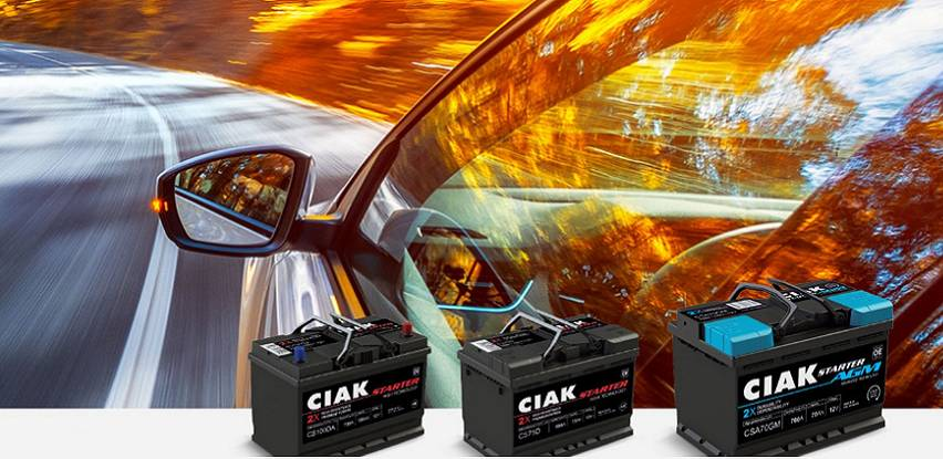 CIAK Starter akumulatori za osobna vozila