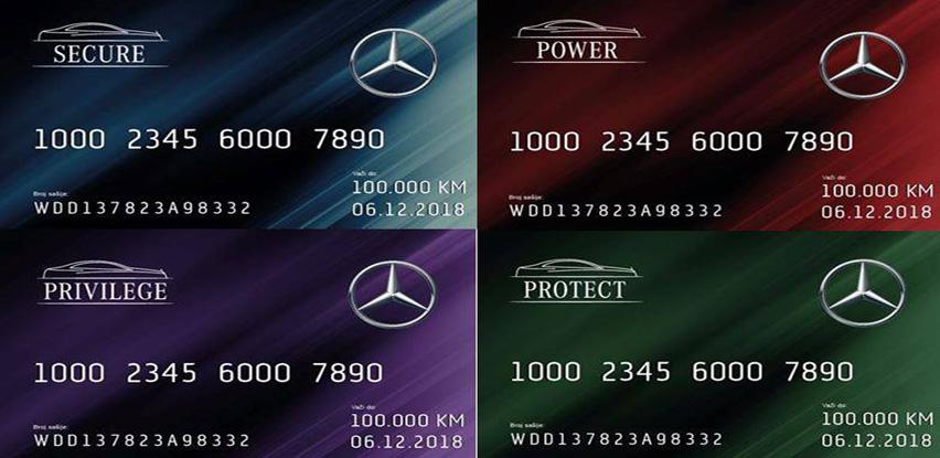 Mercedes-Benz servisni paketi sa 5 zvijezdica!