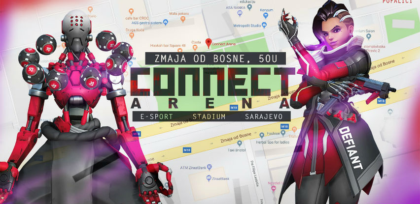 Connect Arene - Doživite gaming na sasvim novi način!