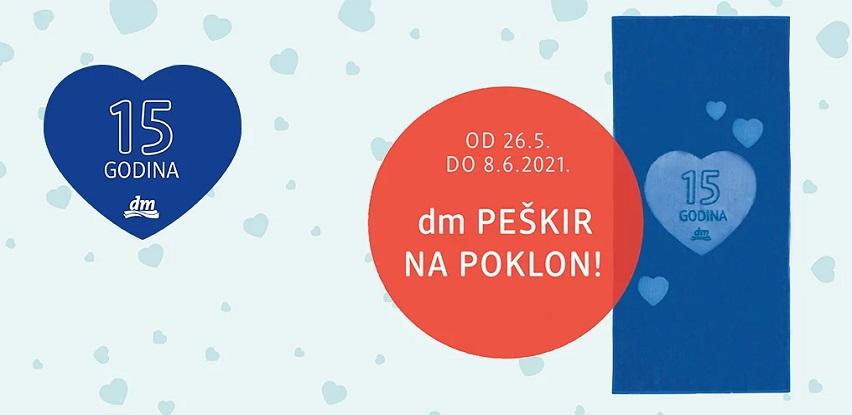 Proslavite 15 godina dm-a u Bosni i Hercegovini!