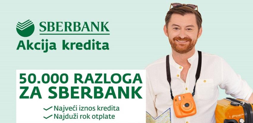 Ljetni val gotovinskih i zamjenskih kredita kod Sberbank BH