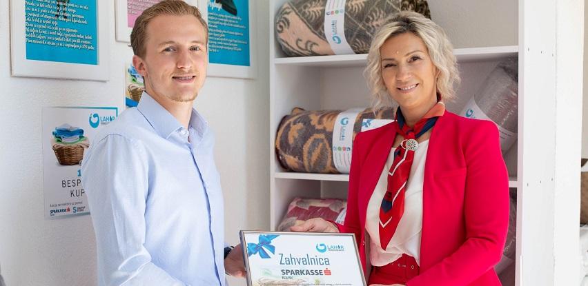 Sparkasse Bank - Podrška startupu Lahor za Covid-19 akciju pomoći penzionerima