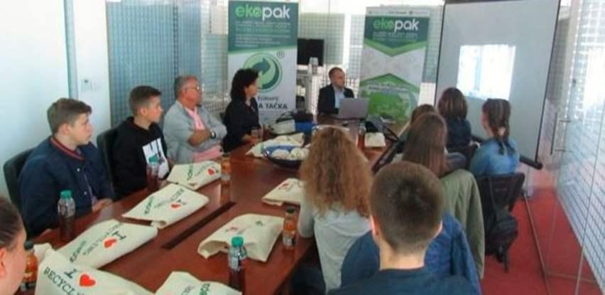 """Ekopak posjetili učenici OŠ """"Mula Mustafa Bašeskija"""" iz Kakanja"""
