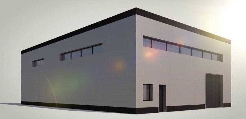 Alubel fasadni paneli – glatka površina