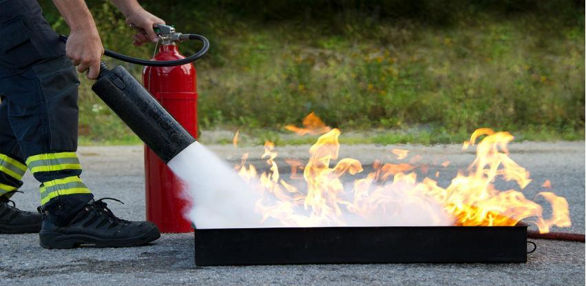 Obuka i provjera znanja uposlenika iz oblasti zaštite od požara