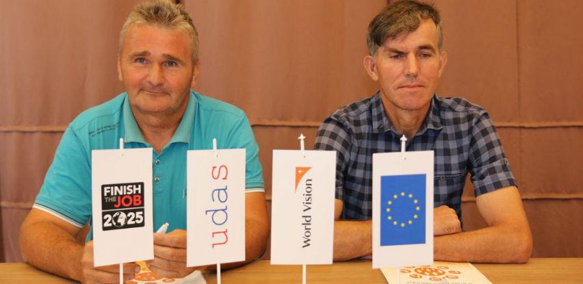 EU i WVI podržali rehabilitaciju i socijalnu inkluziju preživjelih od mina