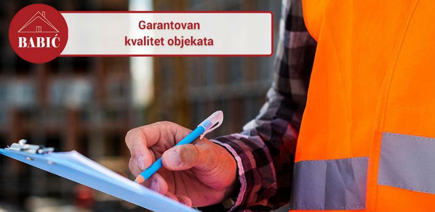 Babić d.o.o. Jablanica - Objekti garantovane kvalitete