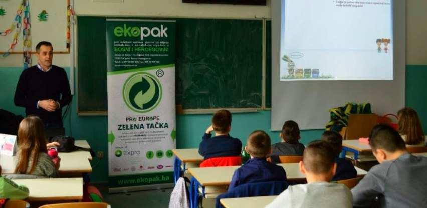 Ekopak održao edukacije u tri osnovne škole u Općini Centar