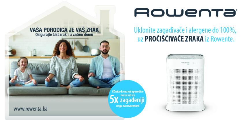 Rowenta pročišćivači zraka – Osigurajte čist zrak i u vašem domu!