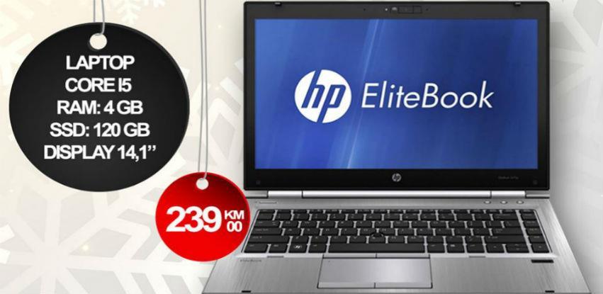 Doper-Tech: Laptop HP ELITEBOOK 8470p za samo 239 KM