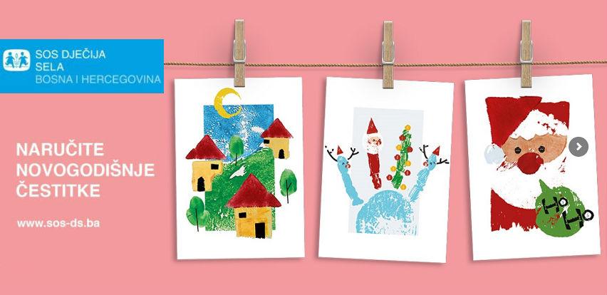 Naručite novogodišnje čestitke i podržite rad SOS Dječijih sela