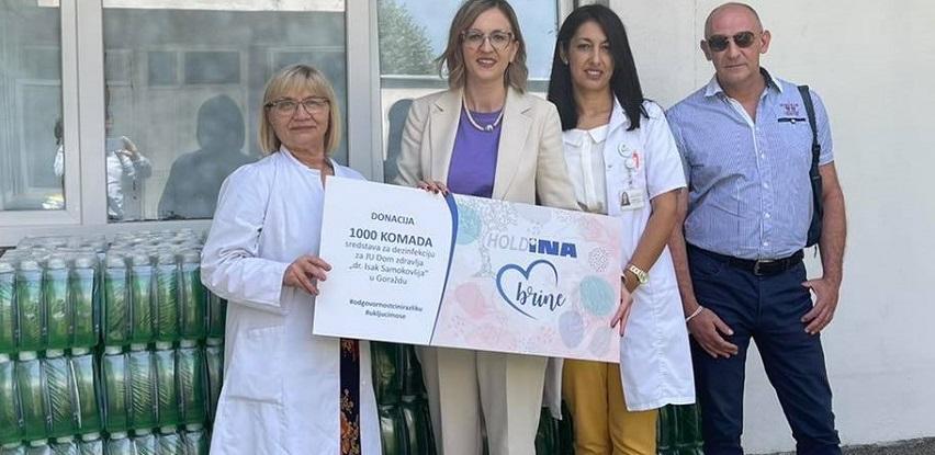 Holdina uručila donaciju za JU Dom zdravlja dr. Isak Samokovlija u Goraždu