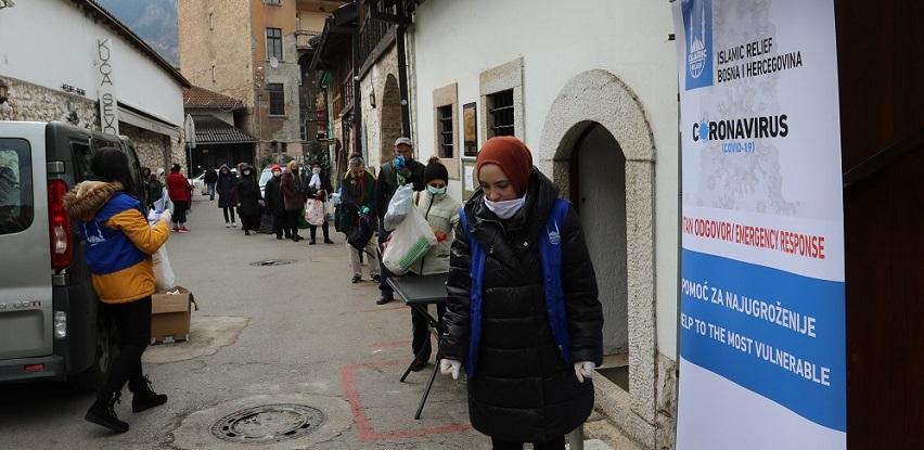 Islamic Relief - Podjela higijenskih paketa
