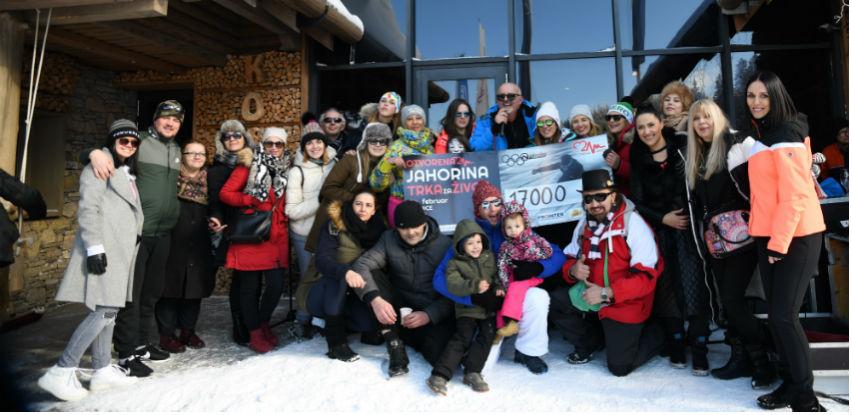"""Humanitarnom """"Trkom za život""""na Jahorini skupljeno 17.000 KM"""