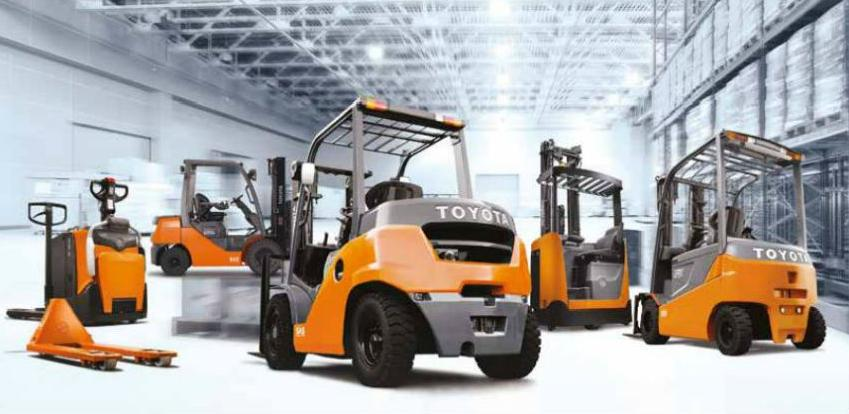 Servisna podrška Toyota Material Handling-a