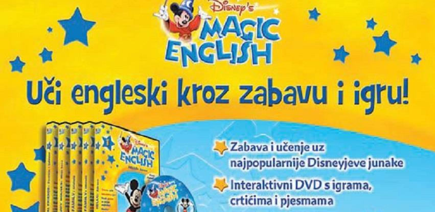 Disney Magic English slikovnice na kioscima iNovina BiH po hit cijeni