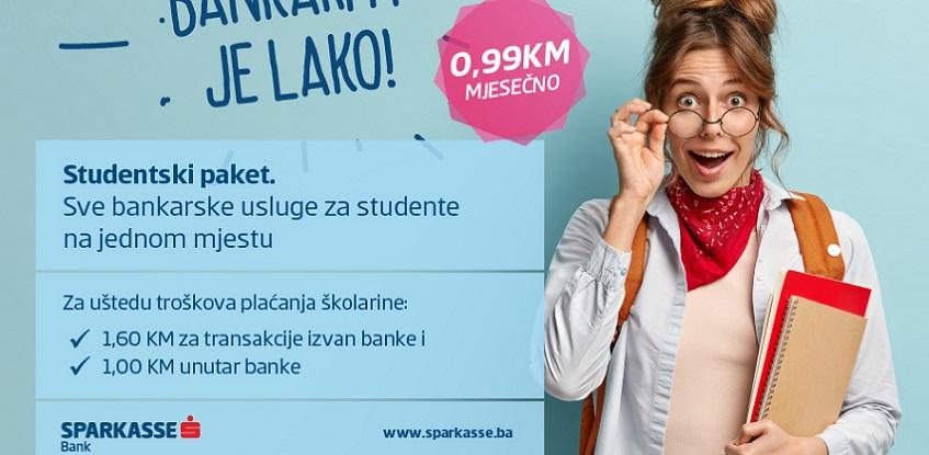 Studentski paket Sparkasse banke