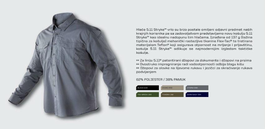 Najmoderniji izgled taktičke košulje - Košulja 5.11 STRYKE™