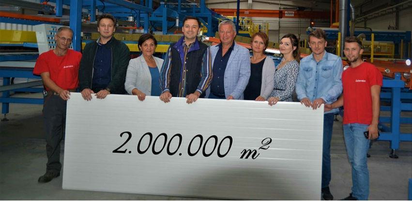 Alternativa proizvela 2.000.000 kvadrat termoizolacionih panela