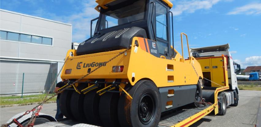 LiuGong valjak 6516E spreman za isporuku!