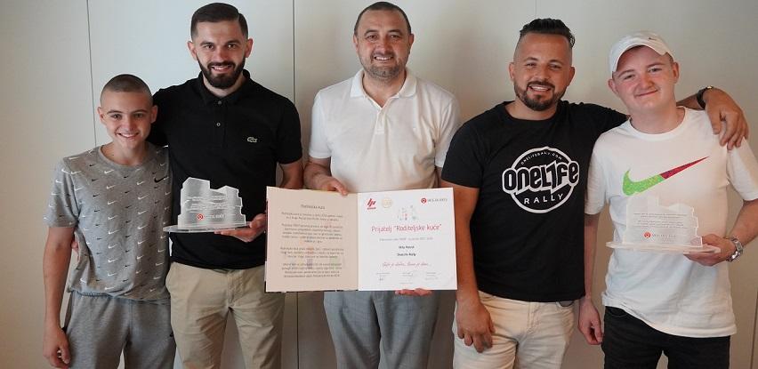 """OneLife Rally i Hifa Petrol uručili 65.000 KM udruženju """"Srce za djecu"""" (Foto)"""