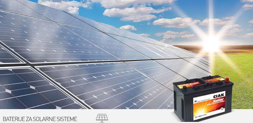 CIAK SOLAR – baterije za solarne sisteme