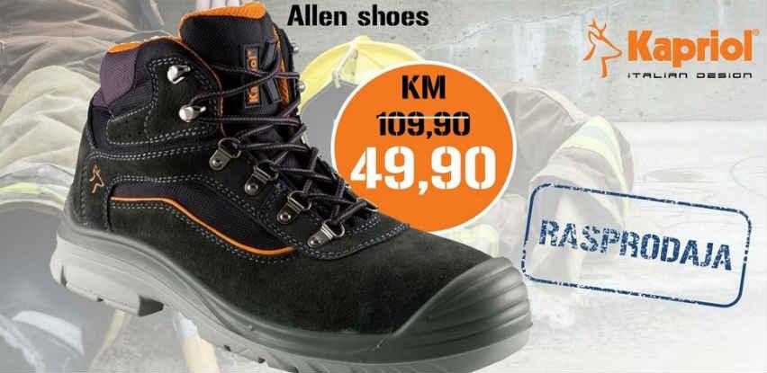 Robusne zaštitne cipele Allen S3 SRC