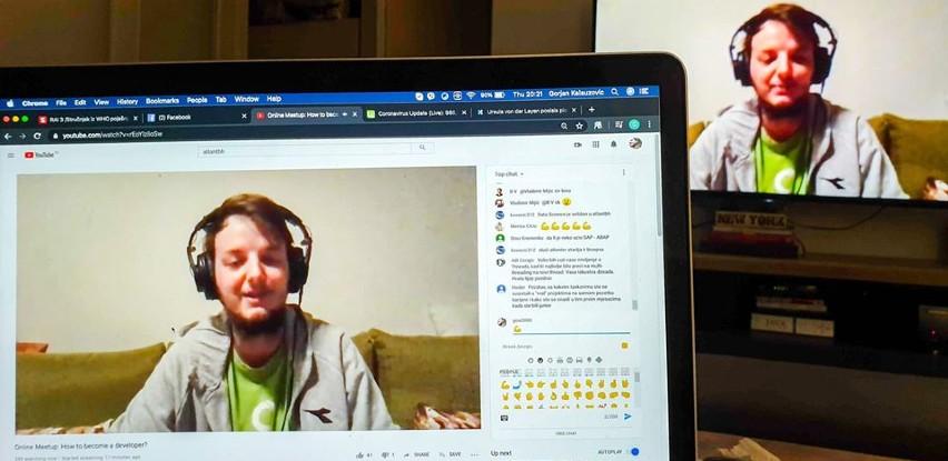 Atlantbh organizira online meetup-e