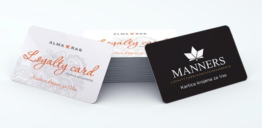 Alma Ras loyalty CARD - kartica krojena za vas