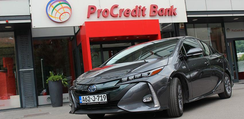 Eko priča ProCredit Bank Test: Toyota Prius Plug-in hybrid