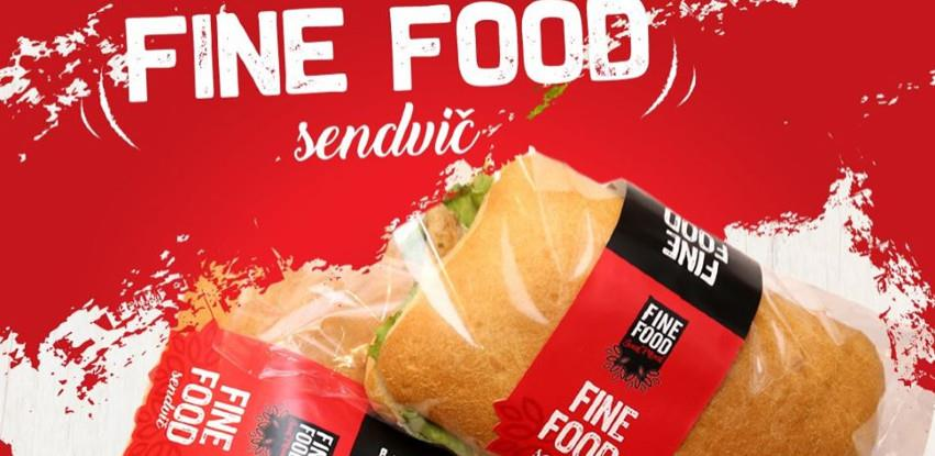 Fine Food sendvič! Stvarno poseban!
