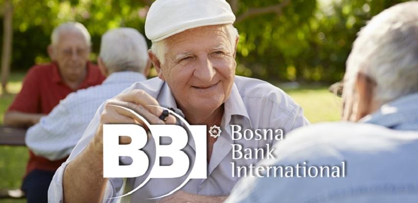 Raspored isplate penzija putem BBI banke
