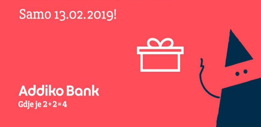 Addiko Red Wednesday - Podignite kredit, jer vam na poklon vraćamo prvu ratu