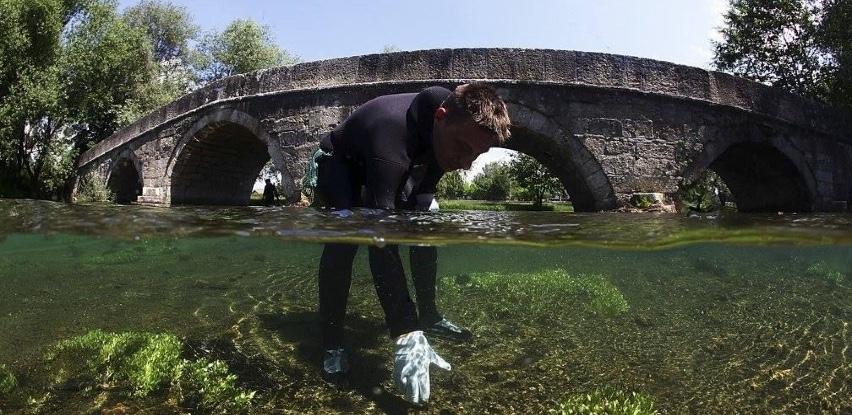 UniCredit Bank i Ronilački klub Bosna organizuju akciju čišćenja rijeke Bosne