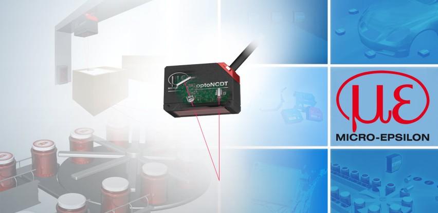 Kompaktan laserski triangulacijski senzor pomaka iz TipTeh-a