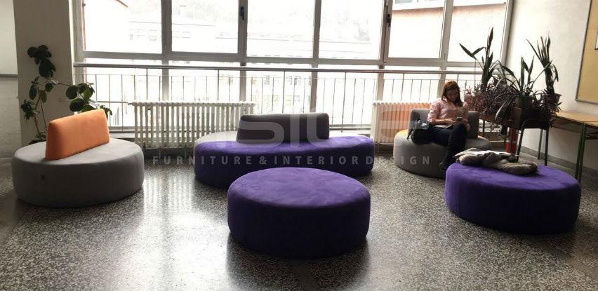 Ećo company opremio enterijere Druge gimnazije namještajem modernog dizajna