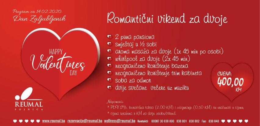 Ne propustite neodoljivu ponudu za Dan zaljubljenih u Reumalu!