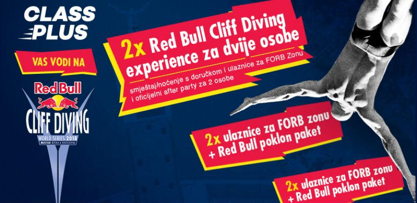 Uz Class Plus i Red Bull doživi Cliff Diving Experience