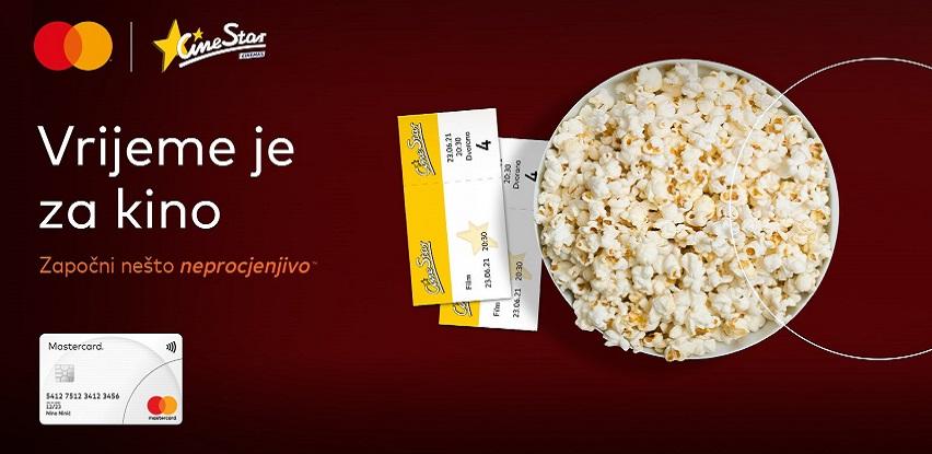 Neprocjenjivi užitak uz Mastercard kartice u CineStar kinima