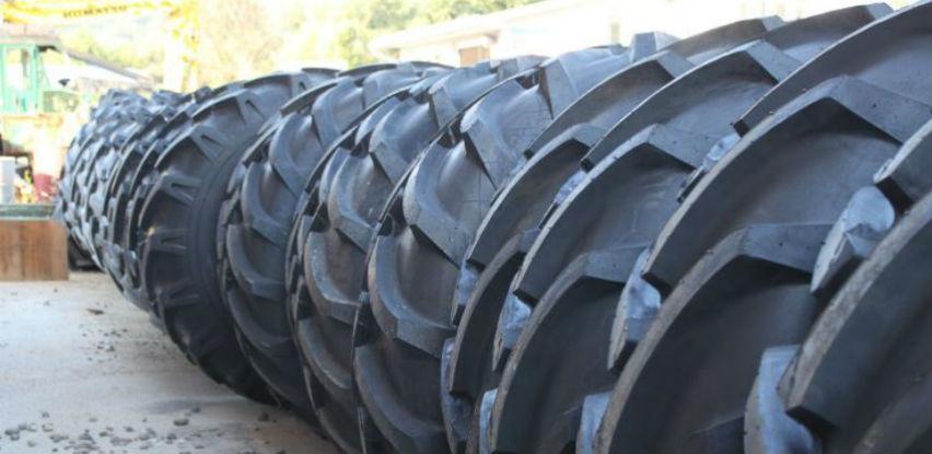 Gume za šumske traktore Timberjack za teške uslove rada